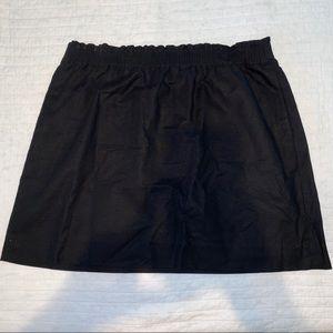 J. Crew Factory Paperbag Mini Skirt